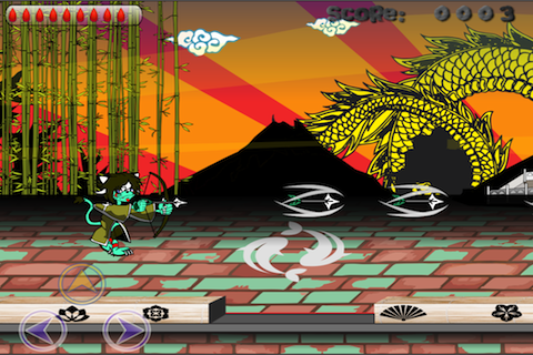 Screenshot iNinja Cat Adventure